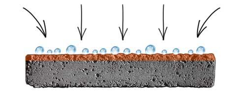 beton impregneermiddel werking, terraseal pro, beton waterafstotend, beton waterdicht, beton impregneermiddel