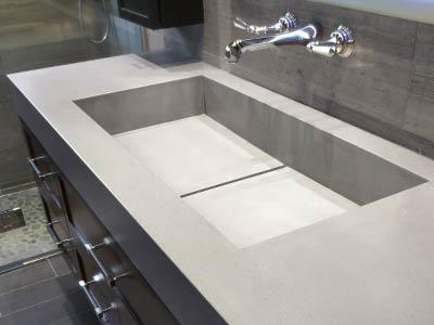 Countertop Pro, betonnen wasbak behandelen, betonnen badkamer meubels behandelen, wasbak beton impregneren, wasbak beton coaten