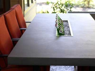 Countertop Pro, betonnen tafel impregneren, betonnen tafel coaten, betonnen tafel behandelen