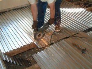 dekvloer storten houten vloer zwaluwstaartplaat