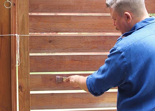 hout - impregneren behandelen waterdicht maken - makkelijk zelf aanbrengen