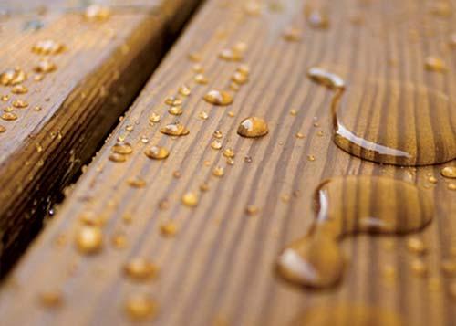 hout behandelen impregneren waterdicht waterafstotend maken