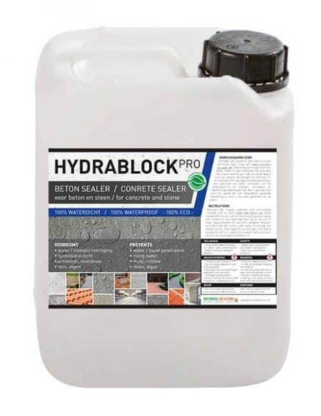 Hydrablock pro beton en steen waterdicht 123 for Huis waterdicht maken