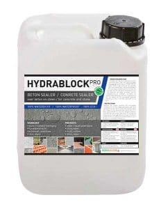 Hydrablock Pro - beton sealer - beton impregneermiddel - beton impregneren beton waterdicht maken