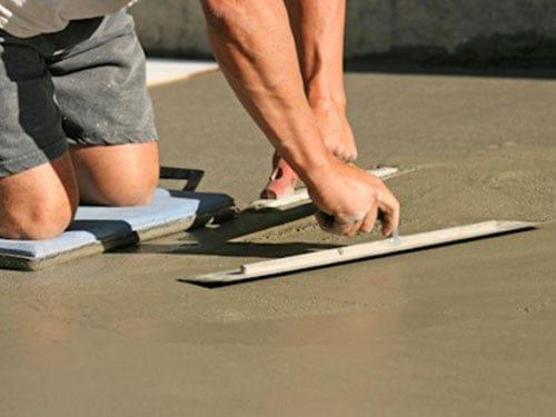 Betonvloer dekvloer waterdicht maken