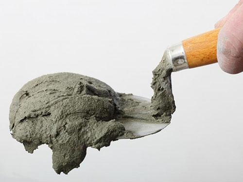 Cement mortel specie waterdicht maken