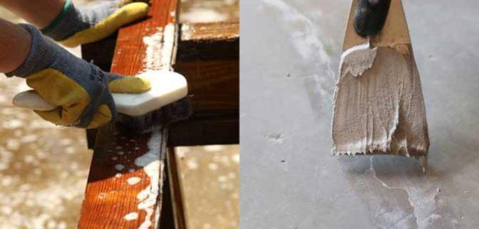 impregneren beton steen hout voorbereiding