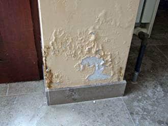 optrekkend vocht muur gevel voorkomen
