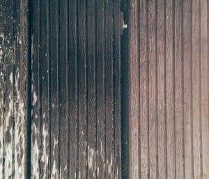Hout behandeld en onbehandeld Woodseal hout impregneermiddel. De regenjas voor al je hout!