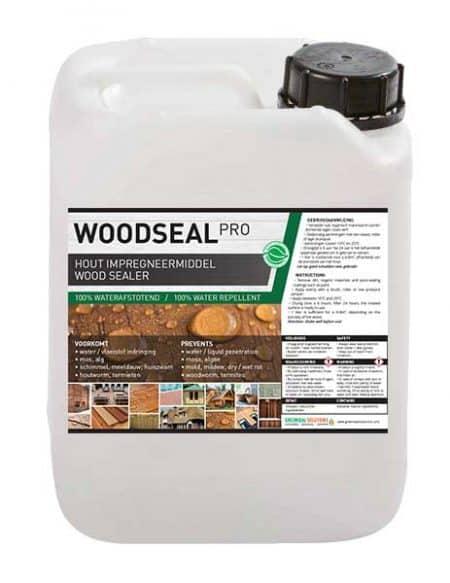 Woodseal Pro - hout behandelen hout impregneren hout waterdicht maken milieuvriendelijk hout verduurzamen